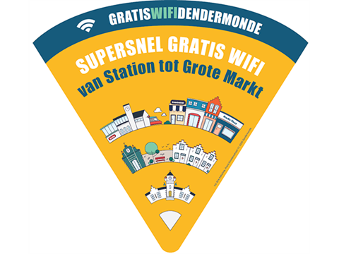 Gratis supersnel wifi in de binnenstad